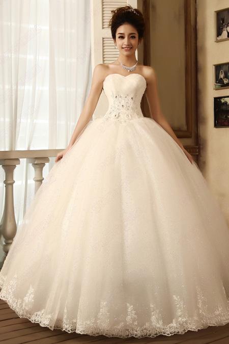 diamond top wedding dress - photo #46
