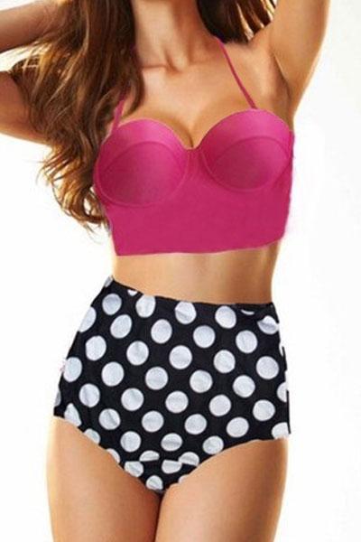 Sexy Women Solid Bikinis