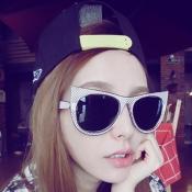 Cheap Fashion Big Framed Cateye Sunglasses