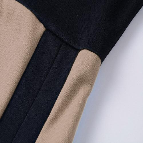 Sexy O Neck Short Sleeve Sheath Mid Calf Polyester Dress