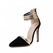 Stylish Pointed Closed Toe Hollow-out Stiletto Sup