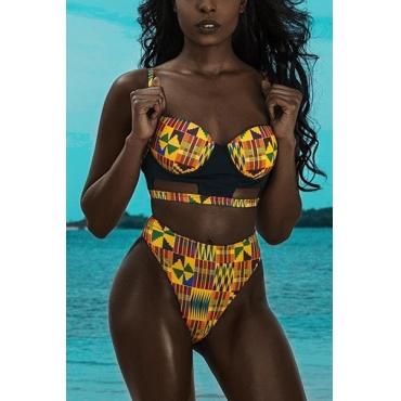 Ployester  Print Bikinis