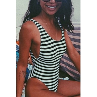 Striped One Pieces