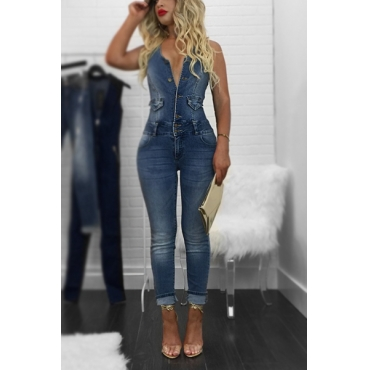 Denim Massiv Regular Jumpsuits
