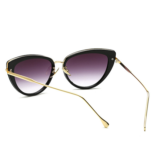 Óculos de sol de óculos de metal com óculos de projeção