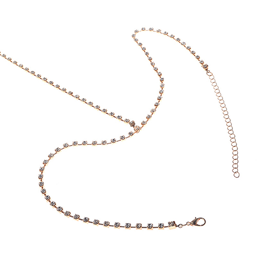 Vintage Hollow-out Gold  Metal Body Chain