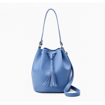 Fashion Light Blue PU Shoulder Bags